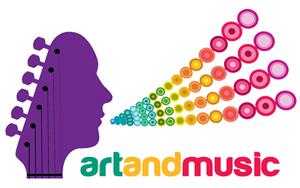 art and music logo